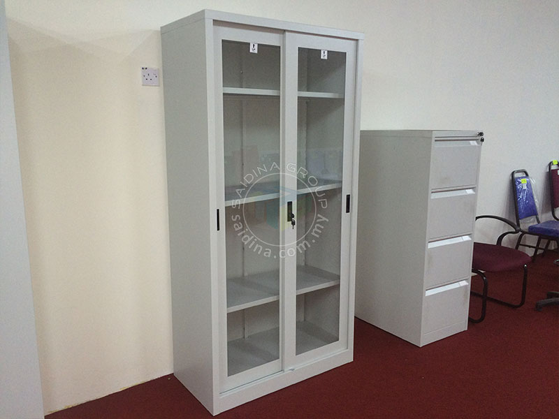 glass sliding door cupboard