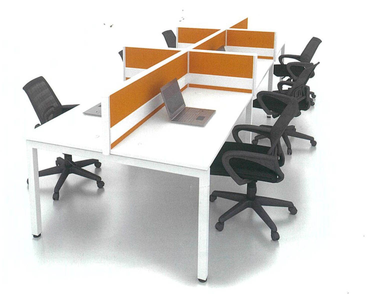 office desking system