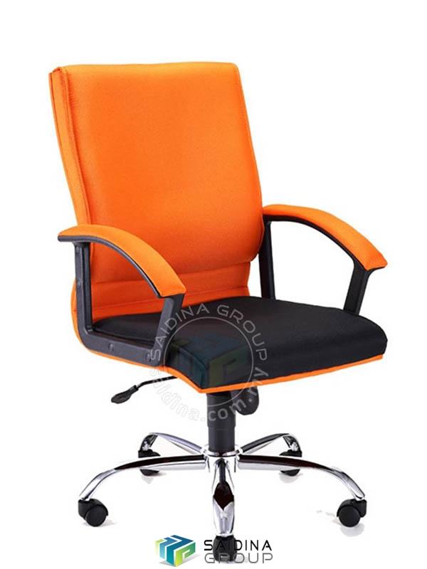 kerusi, kerusi beroda, kerusi eksekutif mediumback, kerusi ofis, kerusi pejabat