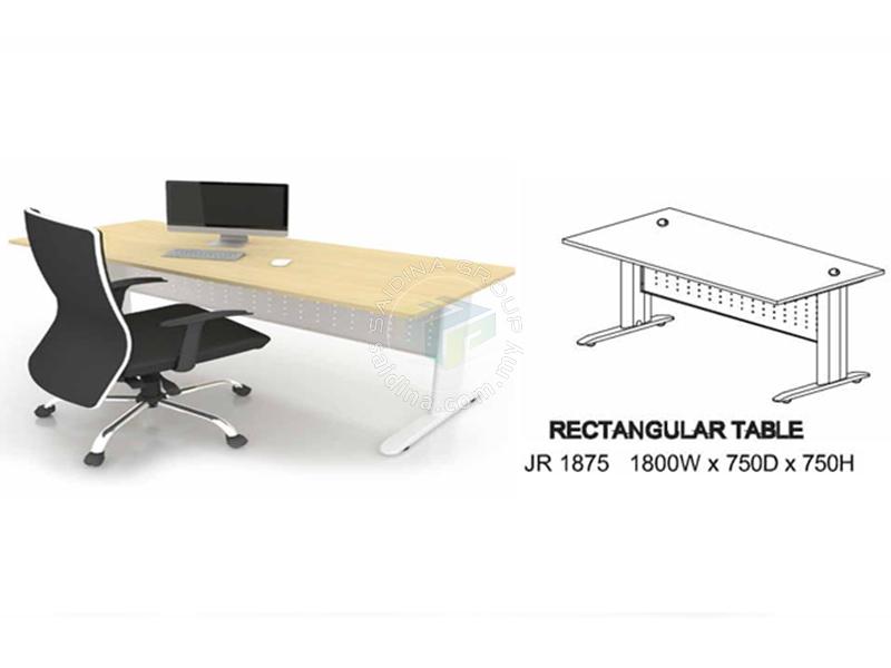 office tables cw J metal leg