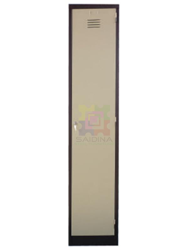 1 compartment locker