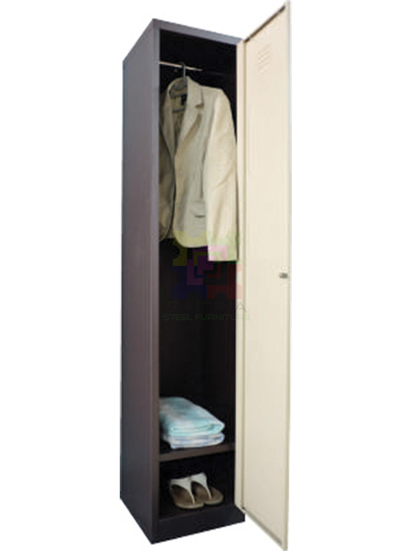 1 compartment locker