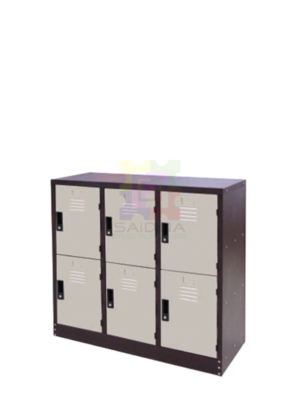multiple compartment locker