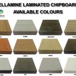 chipboard colours