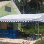 A-shape canopy