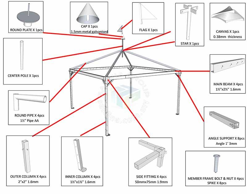 arabian canopy structire