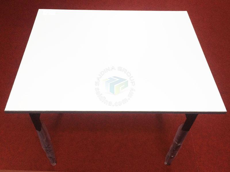 folding school exam table