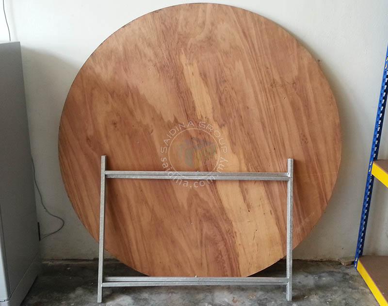meja bulat