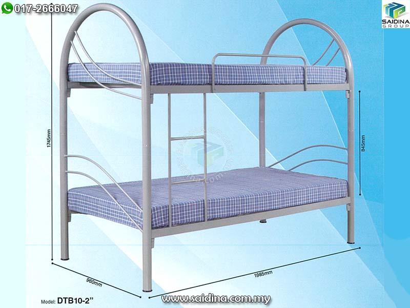 katil bujang 2 tingkat