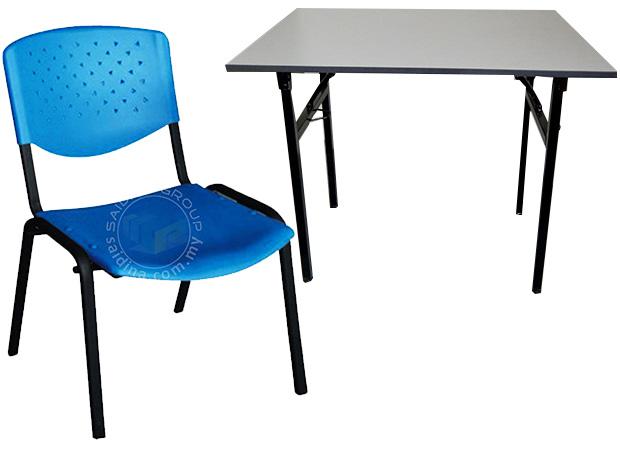 meja kerusi dewan peperiksaan