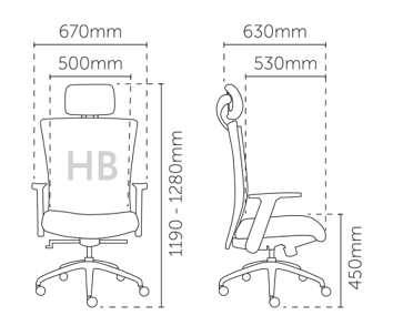 chair measurement