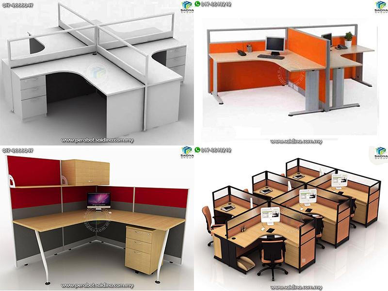 Workstation c/w L shape Table