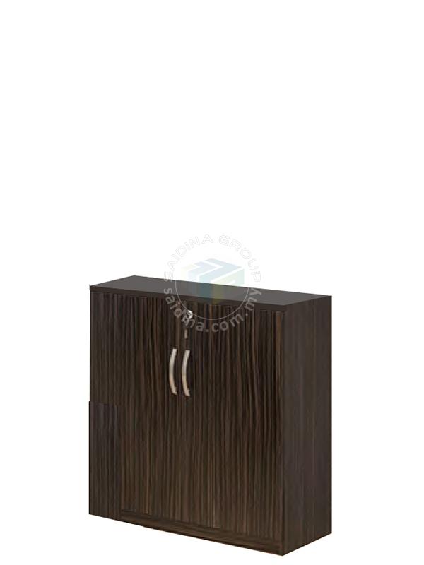 low swing door cabinet