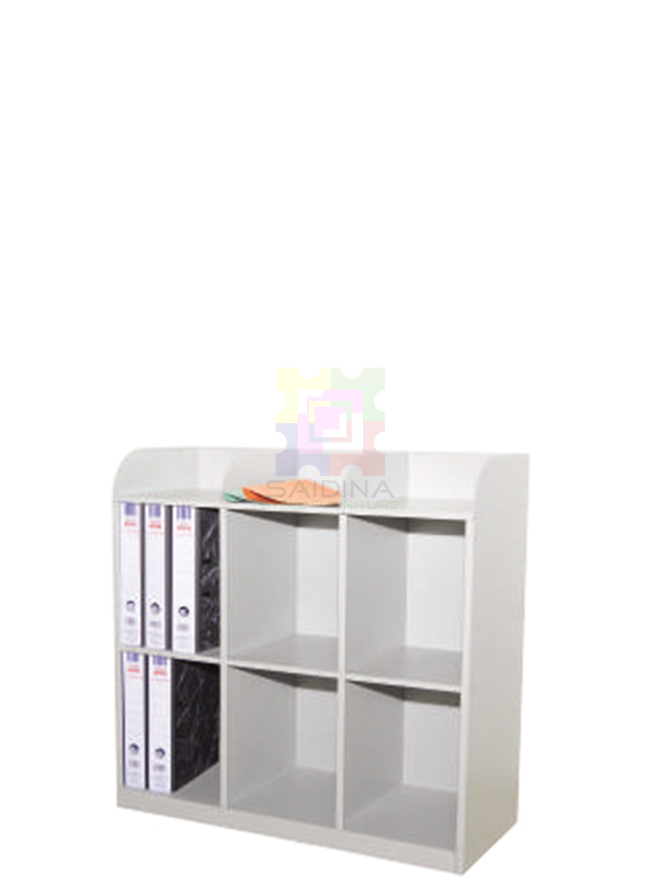 6 PIGEON HOLES SIDE TABLE