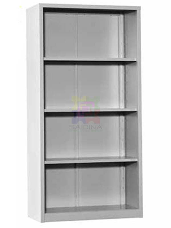 Open Shelf Full Height Steel Cupboard