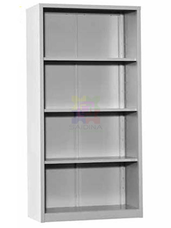 Open Shelf Full Height Steel Cupboard