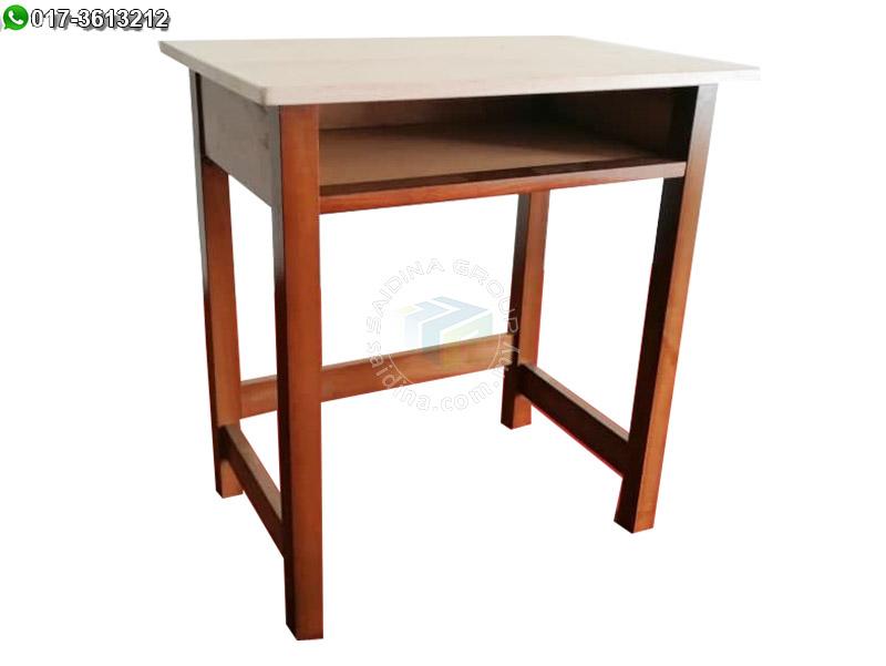 meja sekolah kayu