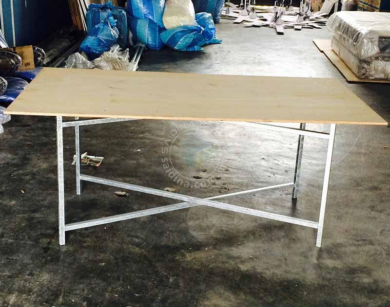 meja petak lipat